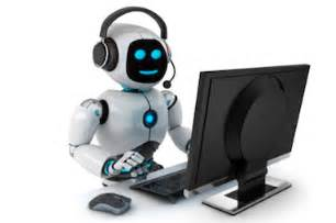 Image result for images of robot on phone