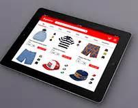 supreme web store refrigerator interface on behance