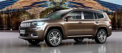 jeep grand commander revealed launch price engine
