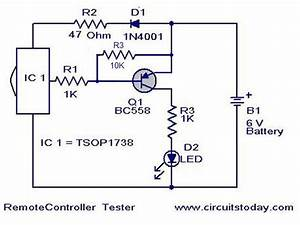 Wiring Free  Remote Control Tester Circuit Jacky March 24