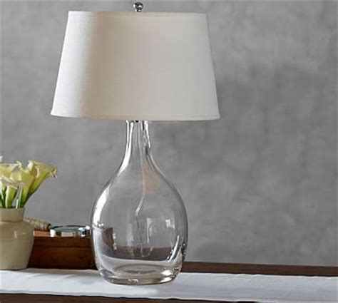 glass shade lighting pottery barn