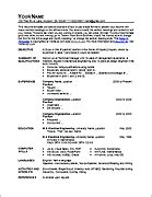 ms excel resume template free templates for microsoft word