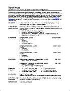 it resume template exles free resume templates sle resumes and resume exles
