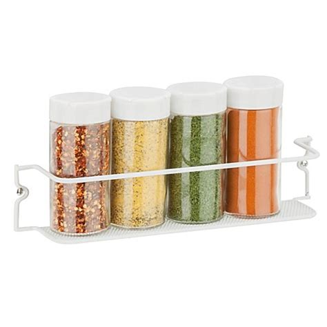 Spice Rack Restaurant Honeypot by Honey Can Do 174 11 5 Inch Single Tier Spice Rack In Mesh