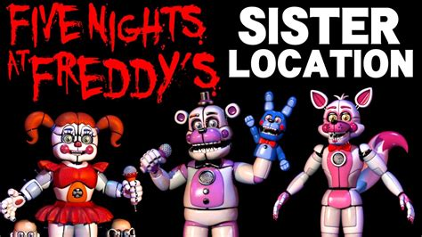 nights  freddys sister location part  blind