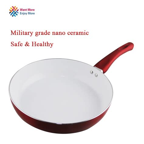 stick copper frying pan  nanoscale ceramic coating  induction cookingoven