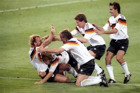 1988-1990 GERMANIA OVEST MAGLIA HOME M Forse la maglia più - Depop