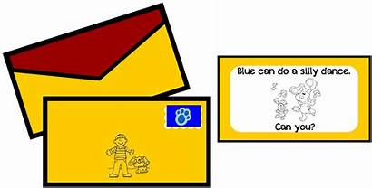 Mail Games Party Clues Blues Birthday Printables