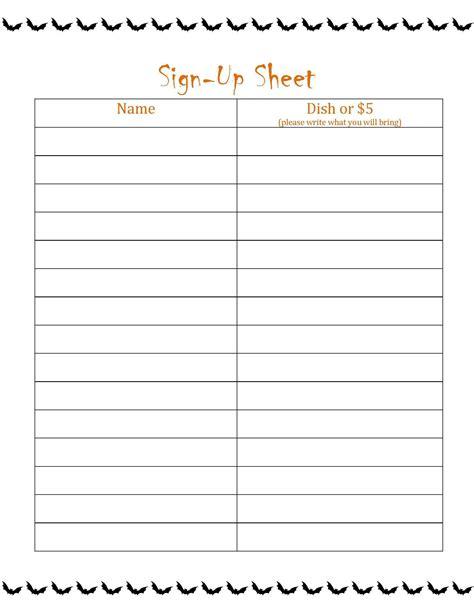 potluck signup sheet template word potluck signup sheet template excel and fall potluck signup sheet template hynvyx