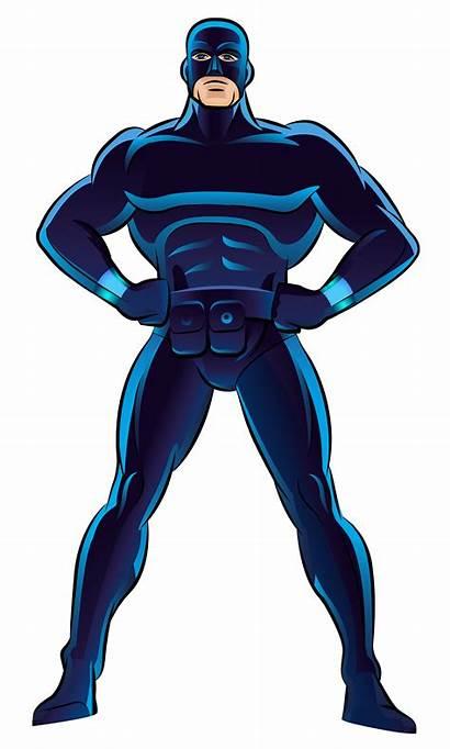 Superhero Clip Transparent Clipart Cartoon Drawing Power