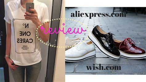 Aliexpress.com Shoes & Wish.com Tshirt Review