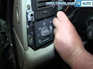 How To Install Replace Fog Light Switch 2000