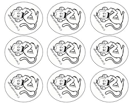 Five Little Monkeys Coloring Page Free To Print 5 Printable For Kids Cartoons Pages Swinging In