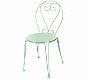 Chaise Vert D Eau : chaise de jardin romantique vert d 39 eau mat 32 salon d 39 t ~ Teatrodelosmanantiales.com Idées de Décoration