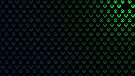 Xbox One Background Theme X1bg Logo Pattern Green Blue Martin Crownover