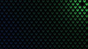 X1bg Logo Pattern Green Blue Martin Crownover