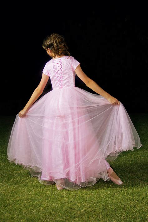 arianna pink modest prom dress  sleeves