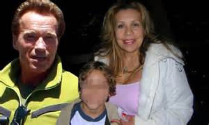 Arnold Schwarzenegger showered his love child with gifts ...