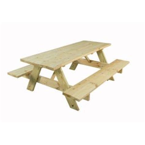 Home Depot Table Ls by 28 In X 72 In Picnic Table 116810 The Home Depot