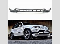 BMW E53 X5 48IS Style Front Bumper Spoiler Addon Tuning