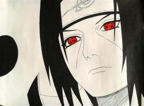 Gambar Anime Naruto Keren Hd Gambar Itachi Uchiha Wallpaper Keren Hd Gambar Kata Kata