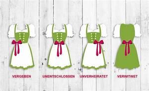 Dirndl Schleife Verheiratet : oktoberfest dirndl schleife richtig binden g zel fikirler pinterest ~ Frokenaadalensverden.com Haus und Dekorationen