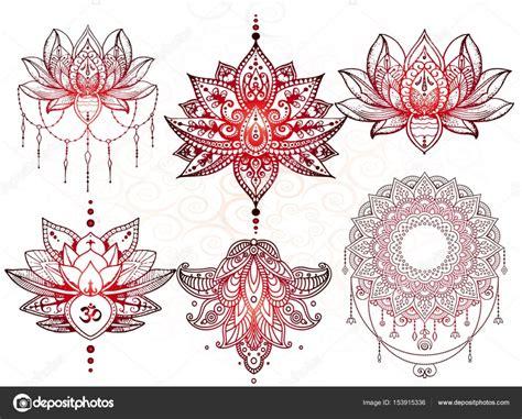 mandala tattoo mehndi stock vector  littlemagic