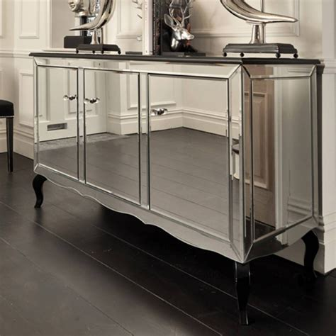mirrored buffet tables 20 ideas of mirrored sideboard furniture 4158