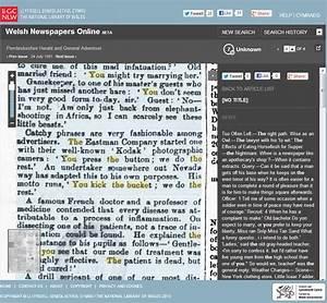 Welsh Newspapers Online - digitalvictorianist.com