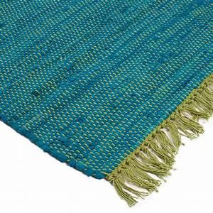 tapis coton pas cher maison design wibliacom With tapis vert pas cher