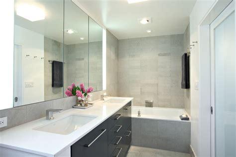 Contemporary Condo Renovation-contemporary-bathroom