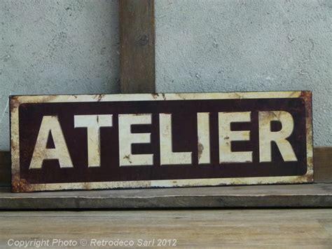 plaque murale cuisine plaque atelier déco atelier antic line seb10393