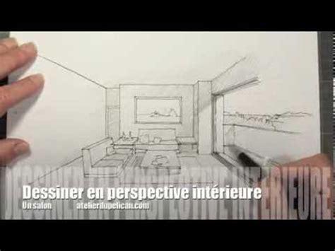 dessiner en perspective intérieure