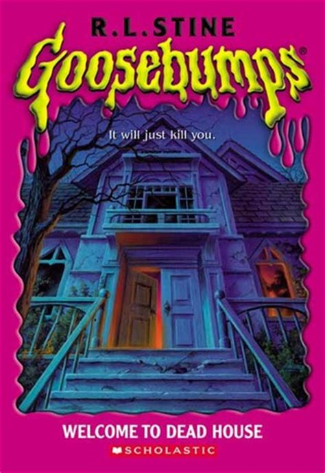 dead house goosebumps   rl stine