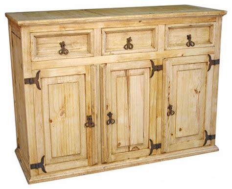 Rustic Sideboards Furniture by Rustic Pine Buffet Rustic Buffets And Sideboards By