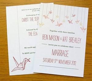best 25 paper crane wedding ideas on pinterest With origami wedding invitations from paper bird design