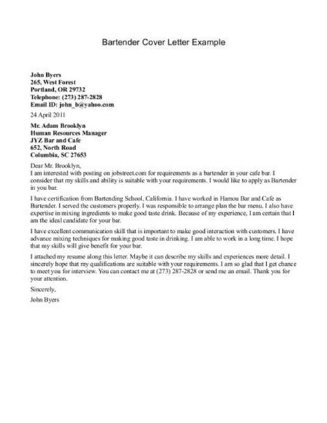 cover letter tips in