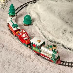 Train Electrique Noel : train lectrique lumineux et musical jingle bells village de noel eminza ~ Teatrodelosmanantiales.com Idées de Décoration