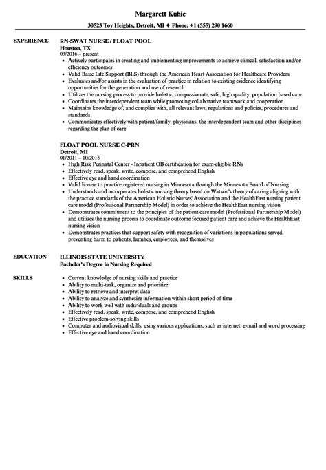 And Abilities For Nursing Resume by Problem Solving Skills In Nursing The Value Of Critical