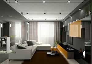 Eclairage Moderne : clairage led et types de luminaires dans le salon parfait cuisine ~ Farleysfitness.com Idées de Décoration