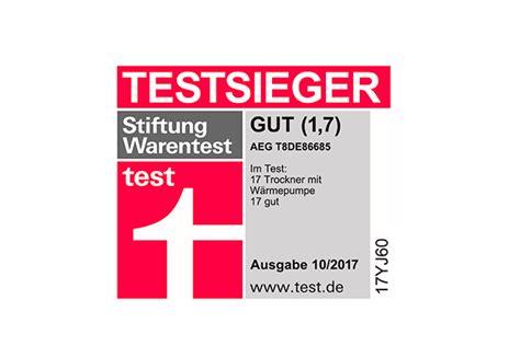 Stiftung Warentest by Aeg W 228 Schetrockner 252 Berzeugt Stiftung Warentest Ce Electro