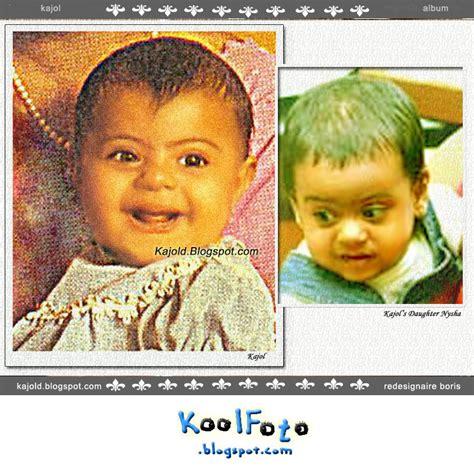 kool foto kajol childhood  part