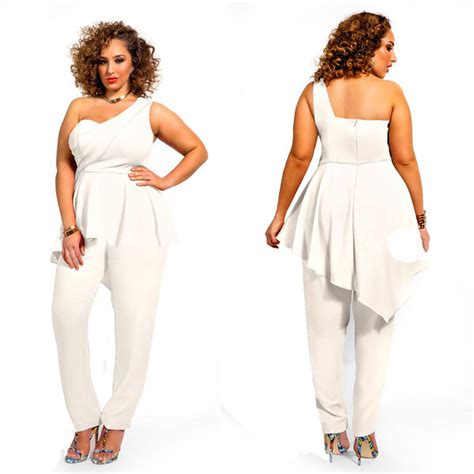 cheap plus size rompers and jumpsuits wholesale trendy plus size clothing sleeveless backless