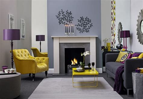Excellent Gray And Yellow Living Room — Incredible Homes