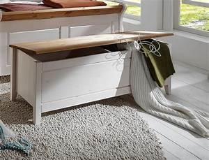 Wäschetruhe Holz Weiß : massivholz truhe w schetruhe schlafzimmertruhe kiefer massiv wei gelaugt ~ Indierocktalk.com Haus und Dekorationen