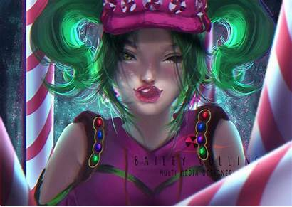 Fortnite Zoey Wallpapers Bailey Collins Backgrounds Anime