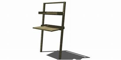 Desk Plans Build Leaning Diy Sloane Easy
