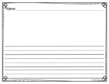 kindergarten writing paper landscape style by josie s 160   original 3439438 2