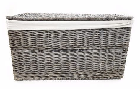 Grey Wicker Or Tapered Baby Nursery Storage Basket Chest Trunk Toy Blanket Box Baby Pram Blanket Crochet Patterns Little Giraffe Nordstrom Rack How To Keep Pet Hair Off Blankets Turn Into Stuffed Animal Sewing A Knitted Patchwork Survival Wool Review Snoopy Security Pattern Size Uk