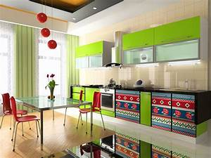 53 best kitchen color ideas kitchen paint colors 2017 for Kitchen cabinet trends 2018 combined with removable wall art stickers